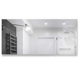 Зеркало прямоугольное  со шлифованной кромкой 8c - А/293 (100х40)