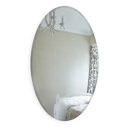 Зеркало овальное  с фацетом  8c - C/059 (90х60)