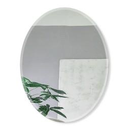 Зеркало овальное  с фацетом 8c - C/060 (110х85)