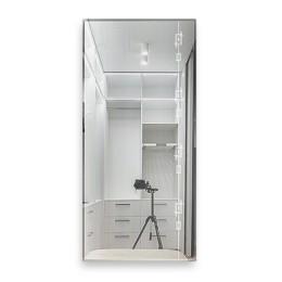 """Зеркало настенное прямоугольное 10с-Д/001 """"Нюанс"""" (130х60)"""