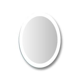 "Зеркало настенное овальное 10с - Д/005 ""Лада"" (60х45)"