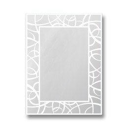 Зеркало настенное прямоугольное Д - 003 (80х60)