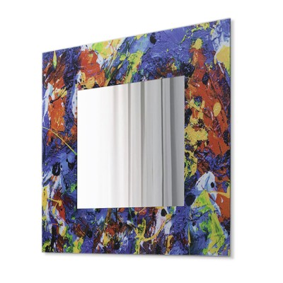 Зеркало настенное квадратное Д-021-1 (70х70)