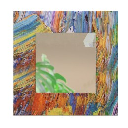 Зеркало настенное квадратное Д-021-4 (70х70)