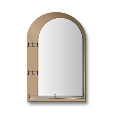 """Зеркало с полкой 10с - Е/005 """"Анжелика-2"""""""
