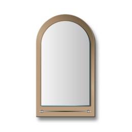 """Зеркало с полкой 8с - Е/272 """"Виктория"""" (50х80)"""
