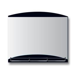 """Зеркало с полкой Е - 422 """"Темп"""" (80х60)"""