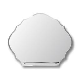 Зеркало с полкой E-456 (80х65)