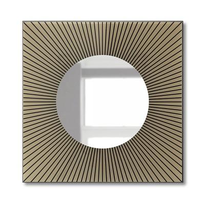 Зеркало настенное F-457 (60х60)