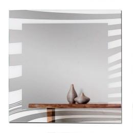 Зеркало настенное F-462-2 (70х70)