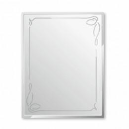 Зеркало с гравировкой  Г-016 (80х60) 5шт.,  уценка