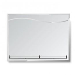 Зеркало с полкой Г - 027 (80х60)
