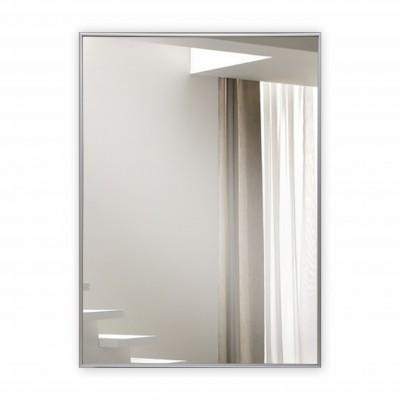 Зеркало прямоугольное в алюминиевой раме M-148 (85х65)