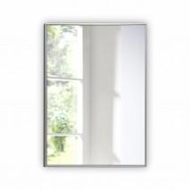 Зеркало прямоугольное в алюминиевой раме M-150 (100х70)
