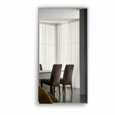 Зеркало прямоугольное в алюминиевой раме M-152 (120х60)