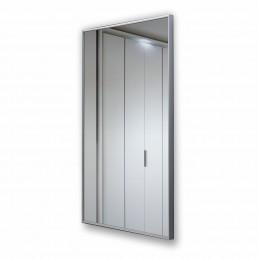 Зеркало прямоугольное в алюминиевой раме M-153 (100х50)