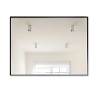 Зеркало прямоугольное в алюминиевой раме M-197 (80х60)