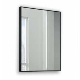 Зеркало прямоугольное в алюминиевой раме M-198 (100х70)