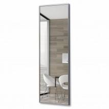 Зеркало прямоугольное в алюминиевой раме M-245 (120х40)