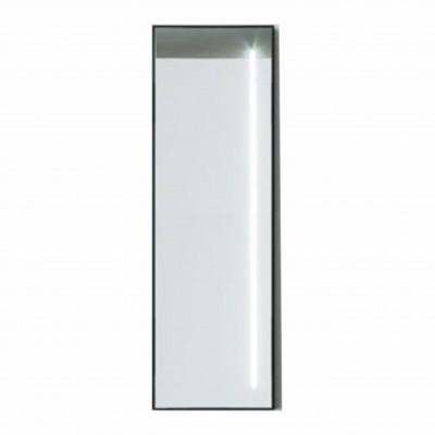 Зеркало прямоугольное в алюминиевой раме M-246 (120х40)