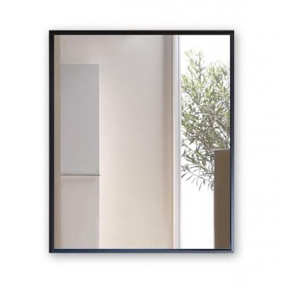 Зеркало прямоугольное в алюминиевой раме M-247 (60х50)