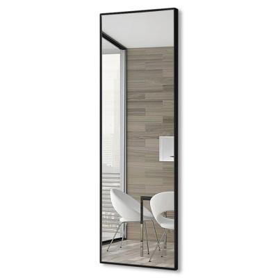 Зеркало прямоугольное в алюминиевой раме M-254 (120х40)