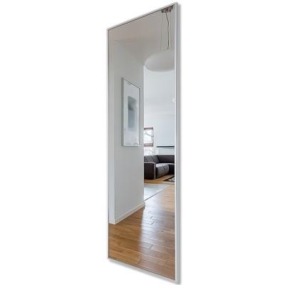 Зеркало прямоугольное в алюминиевой раме M-255 (180х60)