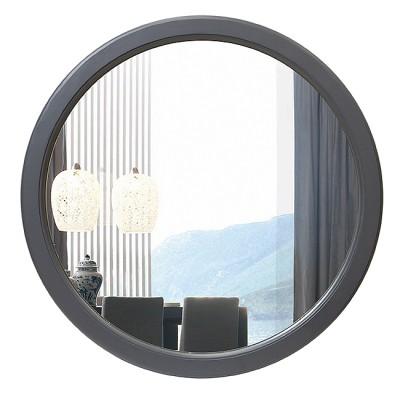 Зеркало круглое в деревянной раме М-249 (D64,4)