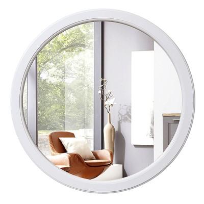 Зеркало круглое в деревянной раме М-251 (D64,4)