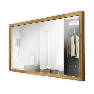 Зеркало в деревянной раме М-253 (110х58)