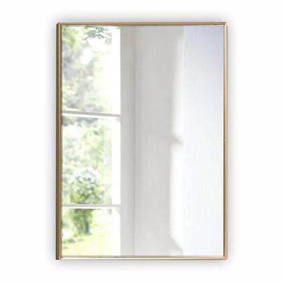 Зеркало прямоугольное в алюминиевой раме M-260 (100х70)