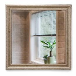 Зеркало в багетной раме М-302 (70х70)