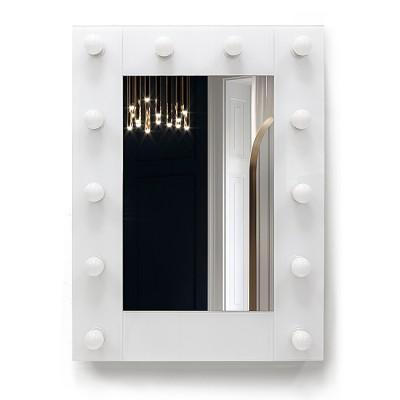 Зеркало с подсветкой гримёрное ЗП-119-1 (80х60)