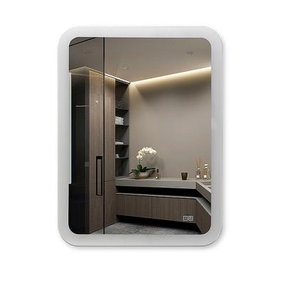 Зеркало с подсветкой и подогревом  ЗП-Н-27 (80х60)
