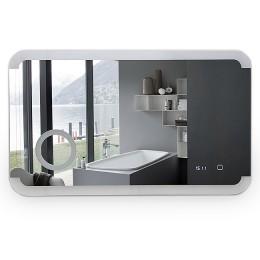 Зеркало с подсветкой и встроенной линзой ЗП-118 (98,2х58,2 см)