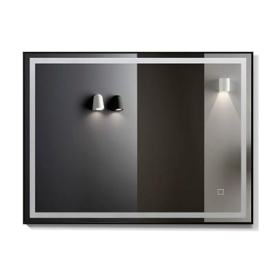 Зеркало с подсветкой в раме ЗП-102 (80х60)