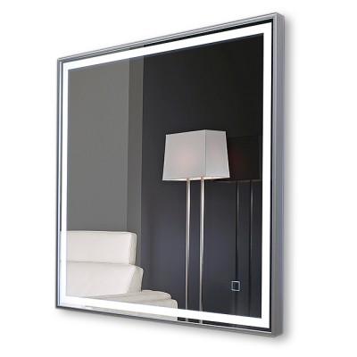 Зеркало с подсветкой в раме ЗП-104 (70х70)