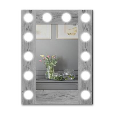 Зеркало с подсветкой гримёрное ЗП-119 (60х80)