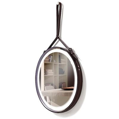 Зеркало с подсветкой в раме ЗП-50-1 (D61)