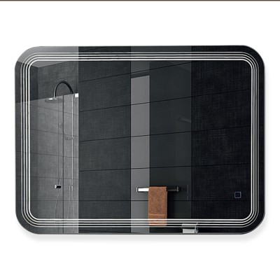 Зеркало с подсветкой  ЗП-56 (80х60)
