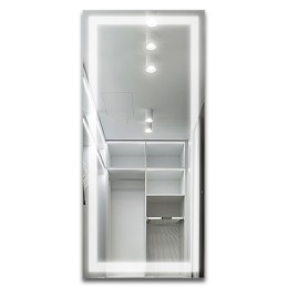 Зеркало с подсветкой ЗП-62 (140х60)