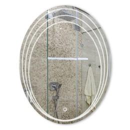 Зеркало с подсветкой овальное ЗП-81 (90х70)