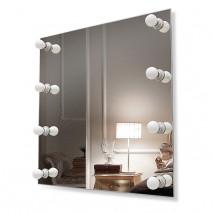 Зеркало с подсветкой гримёрное ЗП-83 (68х69)