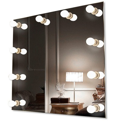 Зеркало с подсветкой гримёрное ЗП-84 (68х83)
