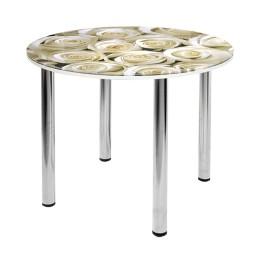 Стол обеденный стеклянный  СО-Д-10-5