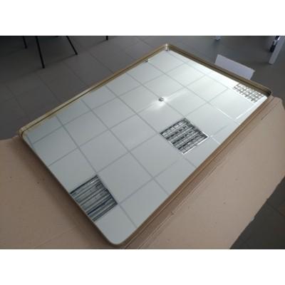 Зеркало прямоугольное в металлической раме (55х80) уценка